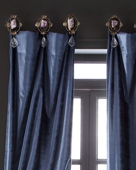 Misti Thomas Modern Luxuries Joule Medallion Curtain Bracket