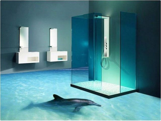 Full Guide To 3d Flooring And 3d Bathroom Floor Designs Bathroom
