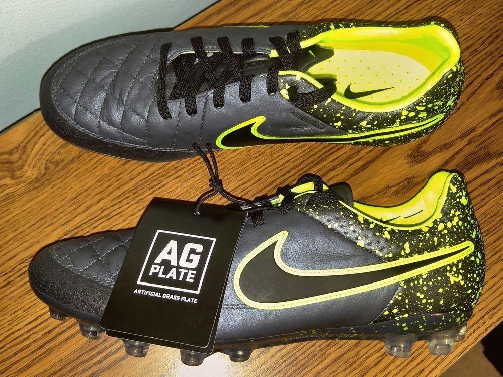 fusión Pantalones Larry Belmont  NEW Nike Tiempo Legend V AG-R ACC Soccer Cleats Black Volt MENS Shoes  717143 007 | Soccer cleats, Nike, Men's shoes