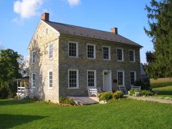 Pennsylvania German House German Houses Amish House Stone Houses