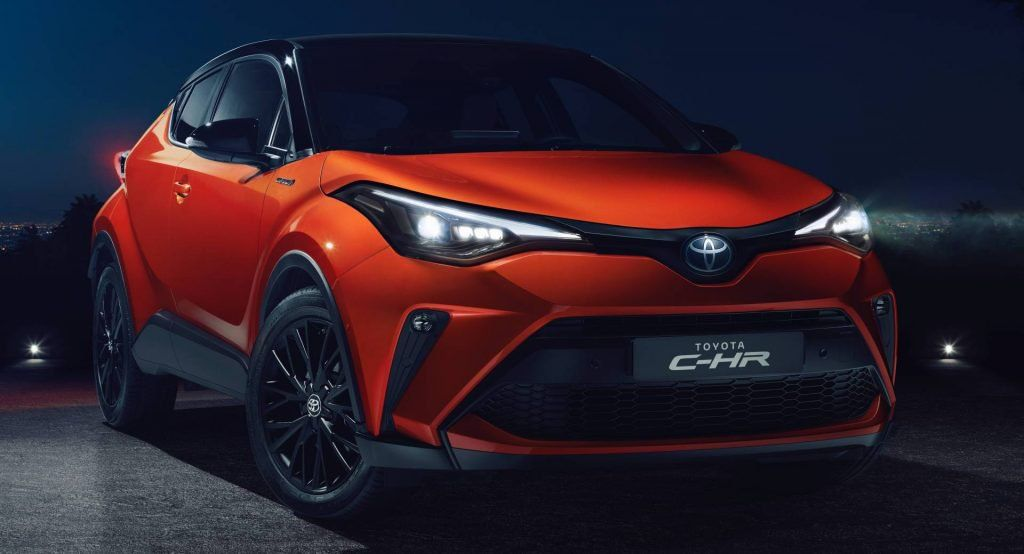 2020 Toyota CHR Muscled Up In Europe With New 181HP