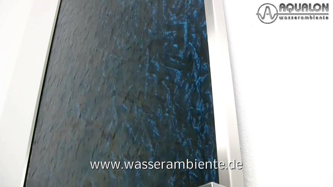 aqualon wasserwand mit wasserlauf aus acrylic couture® | wasserwände