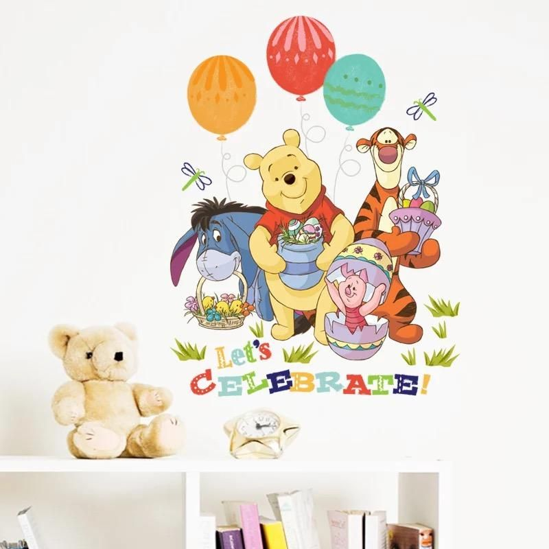 Disney Winnie The Pooh Wall Stickers Disney Wall Decor Pinterest