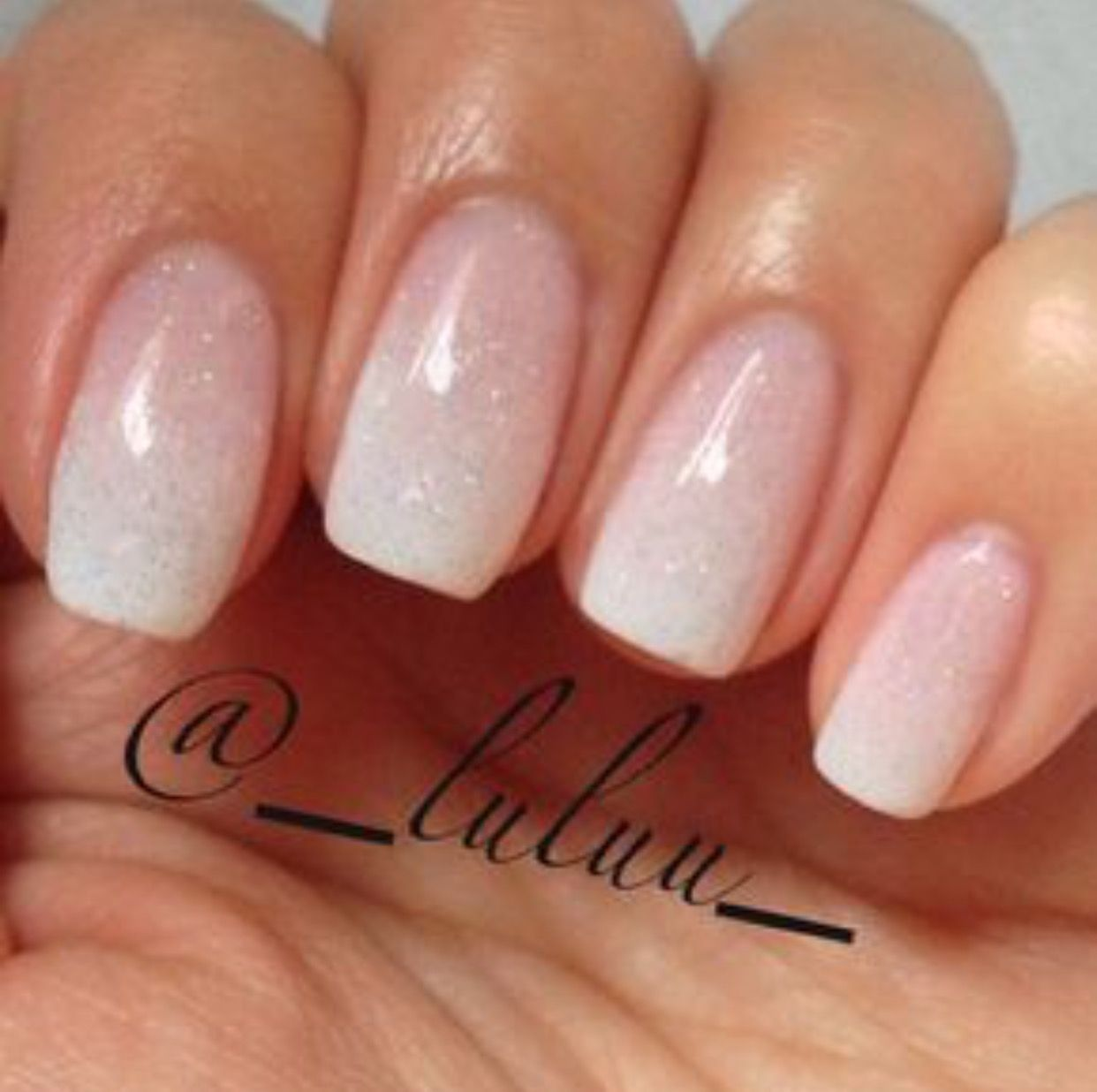 I love this on shorter nails. | beautiful natural nails | Pinterest ...