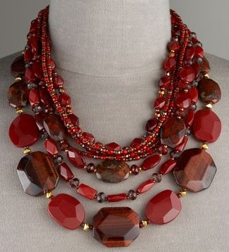 Another Fabulous Fall Piece to Fall For… Jose & Maria Barrera's Tiger's Eye Necklace – Snob Essentials