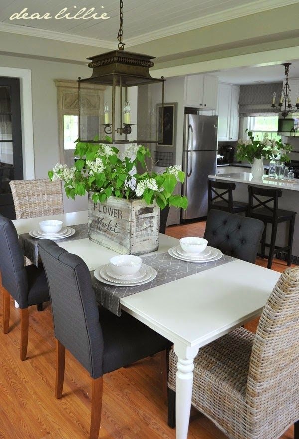 Jason S Full House Tour Lots Of Before And Afters Home Kitchens Home Decor Dining Jason kitchen and dining room