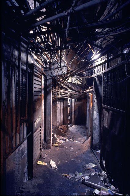 kowloon walled city interior google search cyberpunk pinterest