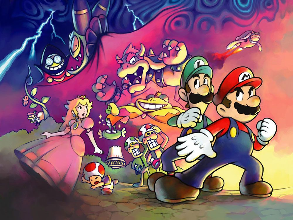 15 Greatest Moments In Mario History Mario Luigi Super