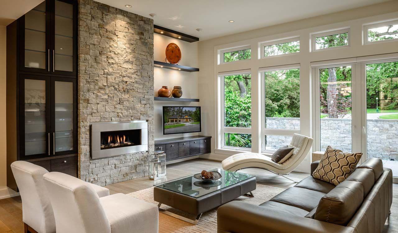 Contemporary Designs For Living Room Stunning Contemporarycustomhomevictoria_3  Sofas  Pinterest  West Design Decoration