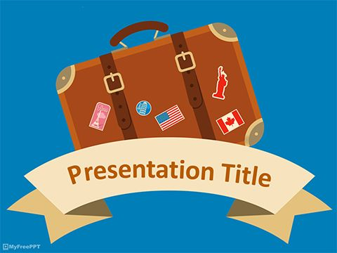 Traveling Powerpoint Template Powerpoint Free Free Travel