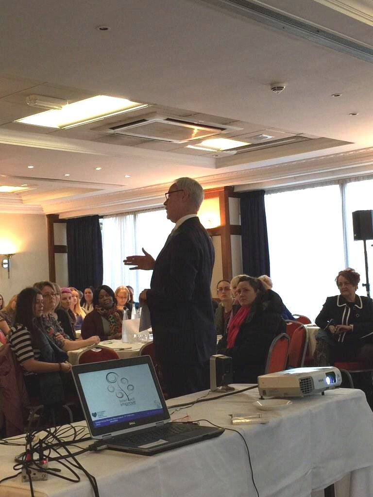 Feb 4, 2015, Shared Governance Day conference at Nottingham