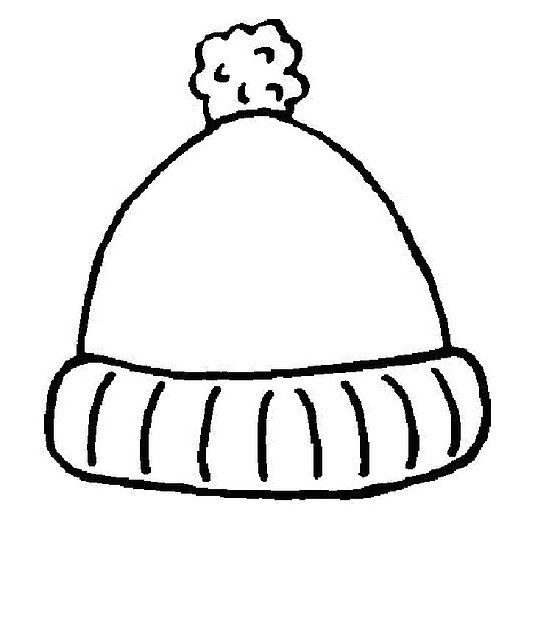 Dibujos gorros invierno para colorear - Imagui | MURALS HIVERN ...