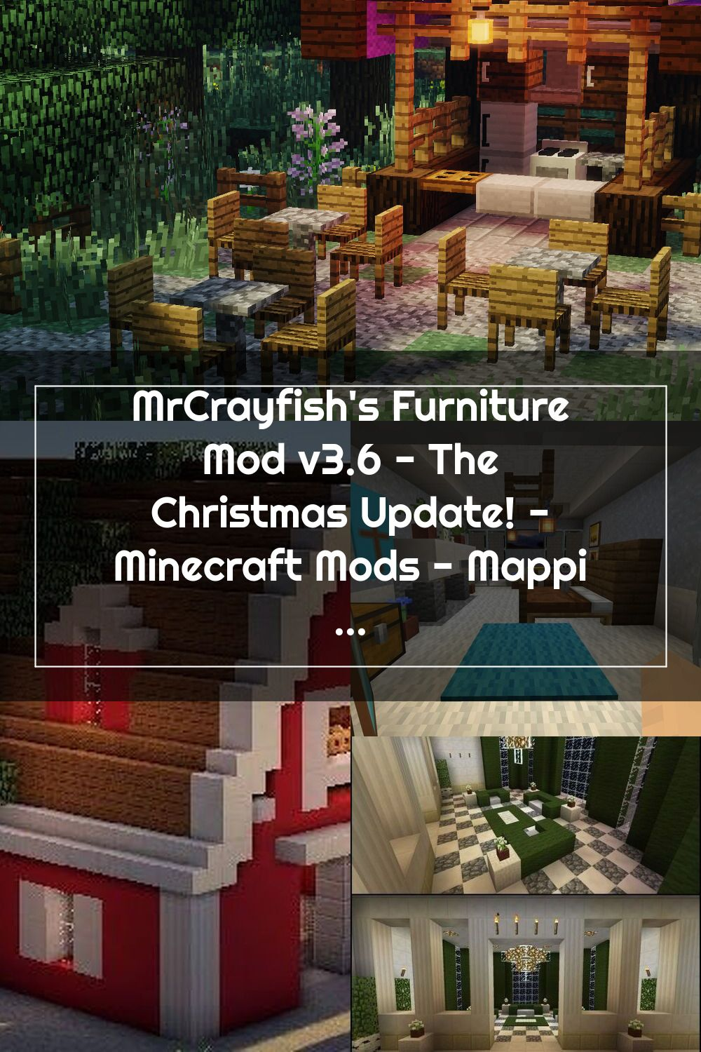 Minecraft Christmas Update 2020 MrCrayfish's Furniture Mod v3.6   The Christmas Update