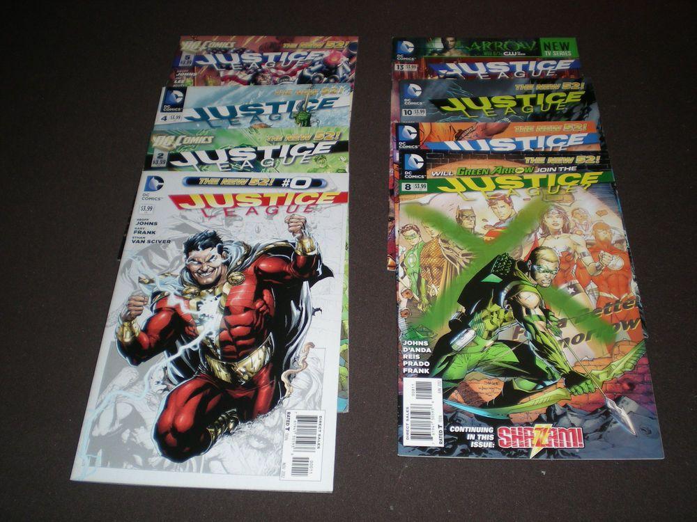 Justice League 0, 2, 4, 5, 8, 9, 10, 13, 14, (2012-13), DC C04