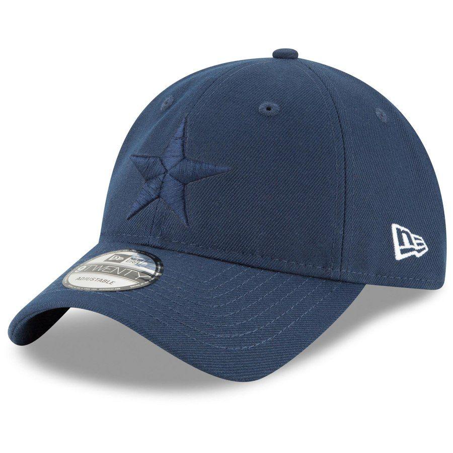 Men s Dallas Cowboys New Era Navy Core Classic Twill 9TWENTY Adjustable Hat 93b268d3a