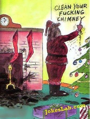 Weihnachtsbilder Pinterest.Funny Santa Funny Santa Clean Your Fucking Chimney Ha Ha