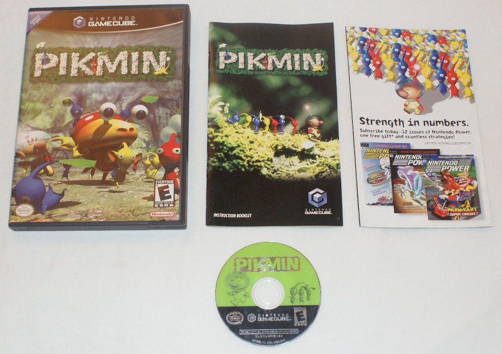 Pikmin Nintendo Gamecube Totally Complete With Manual And All Inserts Gamecube Nintendo Paperbacks