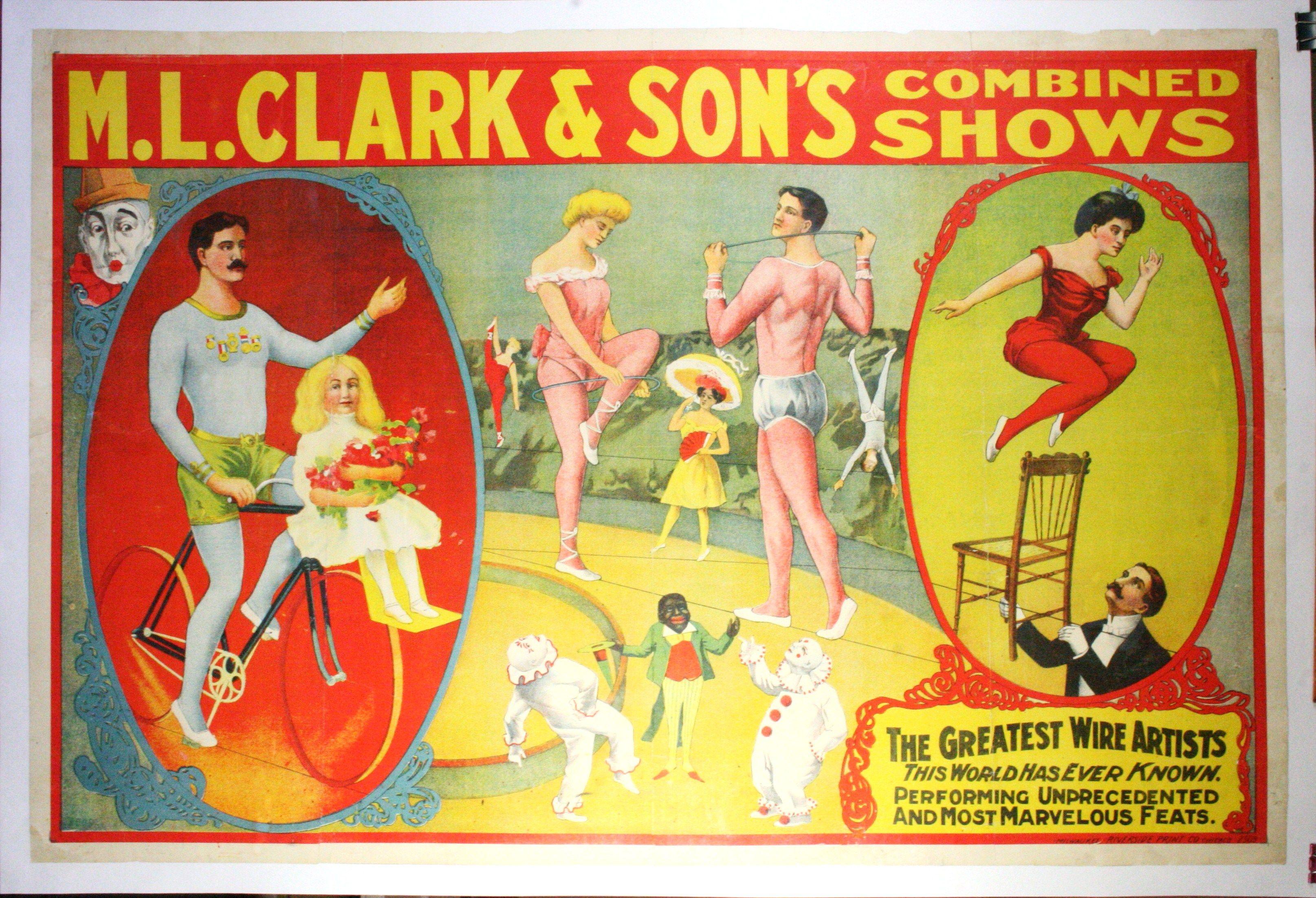 ML Clark Circus Poster 3230x2203