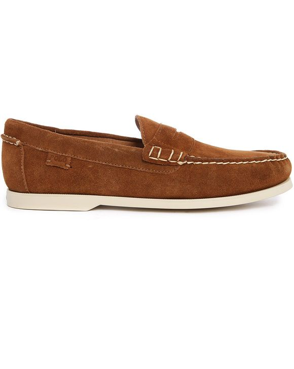 Mocassin Tabac Polo Style LaurenMen's Suede Bjorn Ralph WIeH29EDY