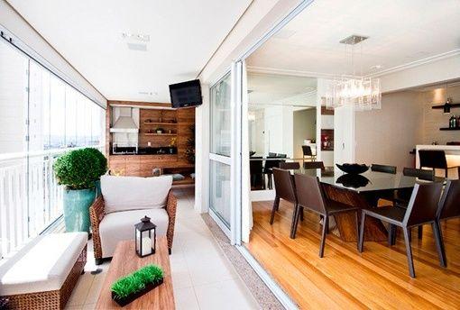 Integrar Una Terraza Al Salón Terrazas Interiores Decoracion De Interiores Salones Interior De Apartamento