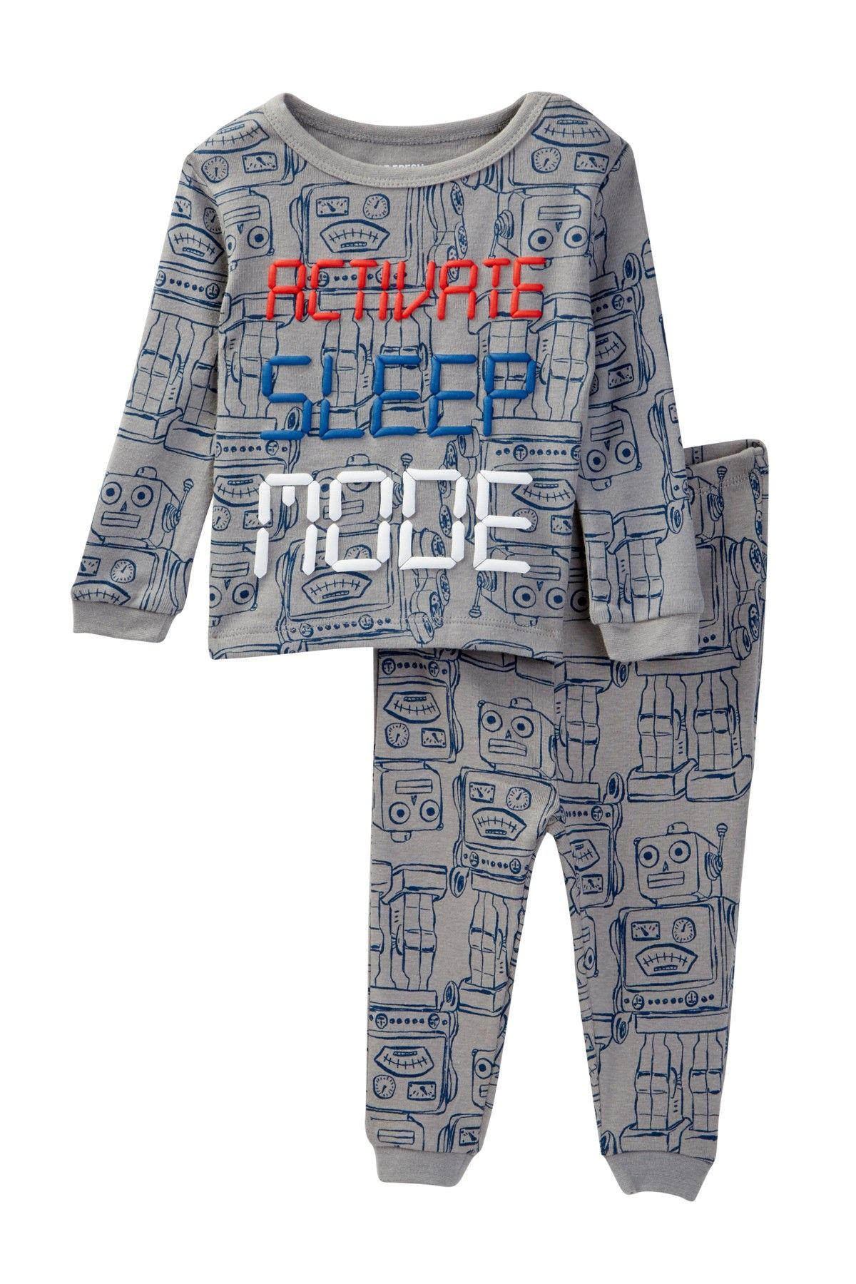 169042606 Activate Sleep Mode Pajama Set (Baby Boys) | Products | Baby boy ...