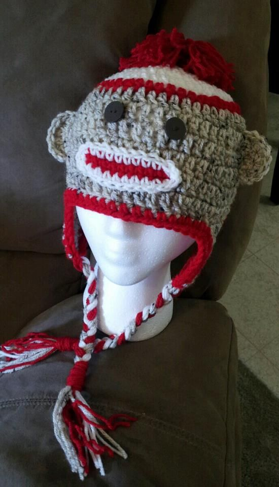 20.00 for completed hat...please contact me at justagirlscrochetedcreations@yahoo.com if you would like to order!
