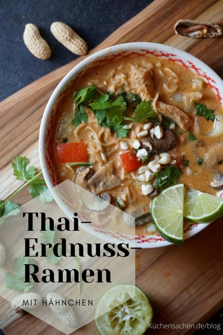 Thai-Erdnuss-Ramen
