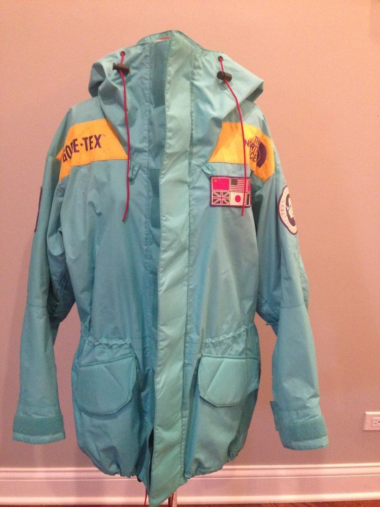e8c56e1abb Rare Vintage Trans Antarctic 1990 Expedition North Face Jacket Size Small