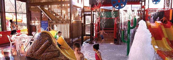 Rocking Horse Ranch Resort - great family destination in Highland, NY. Indoor water park, lake, horseback riding, all-inclusive meals, kids club, and more.