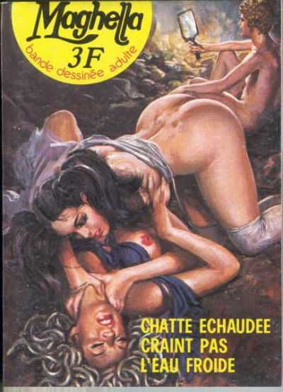 Erotic science fiction comics