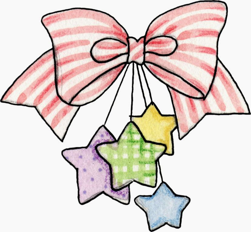 bow with stars