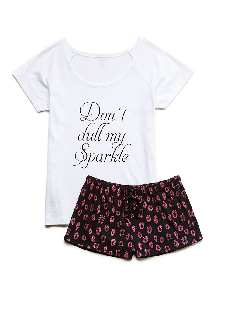 My Sparkle PJ Set | FOREVER21 $12.80