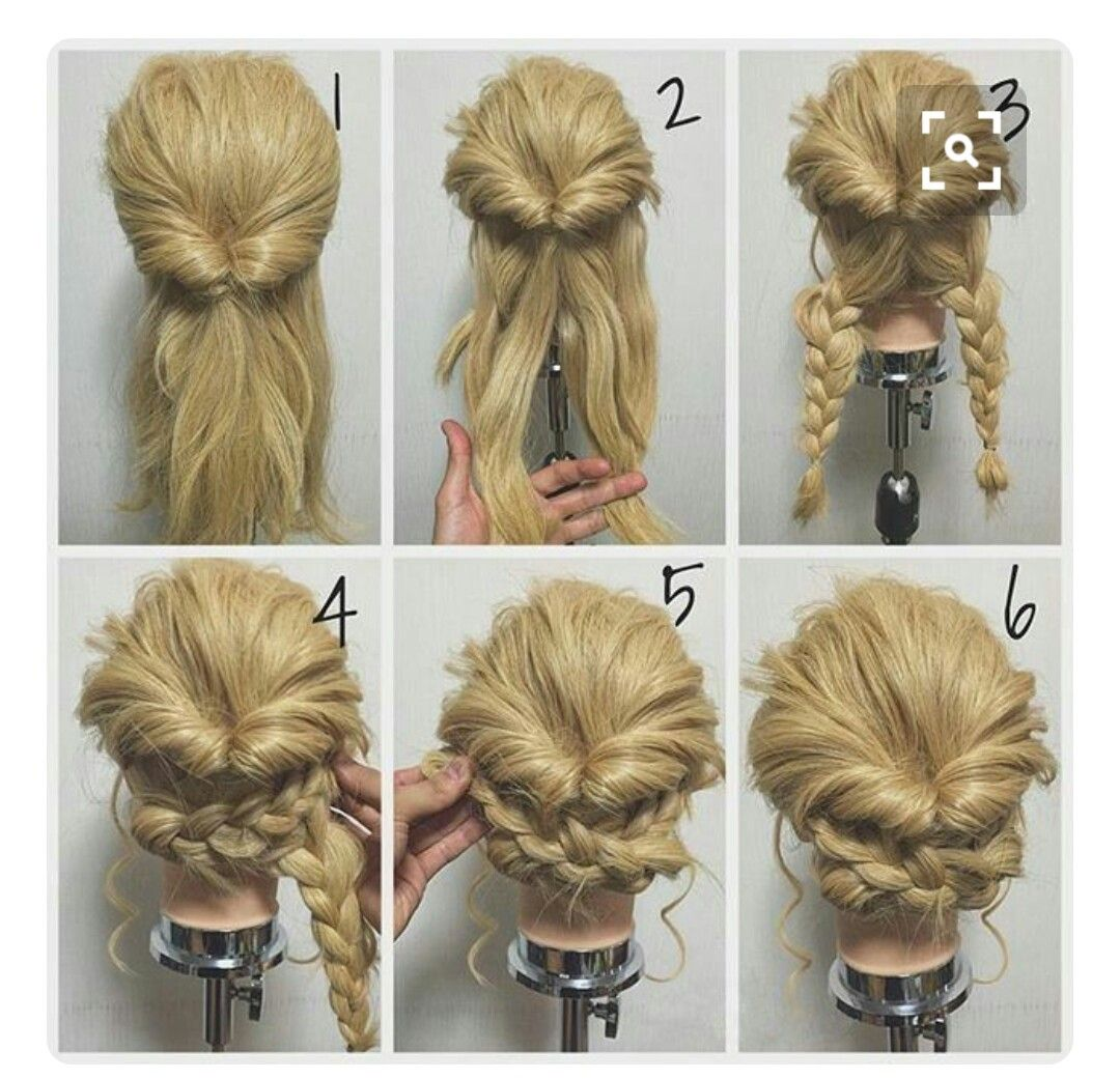 Pin by rina on прически pinterest hair style updos and prom hair
