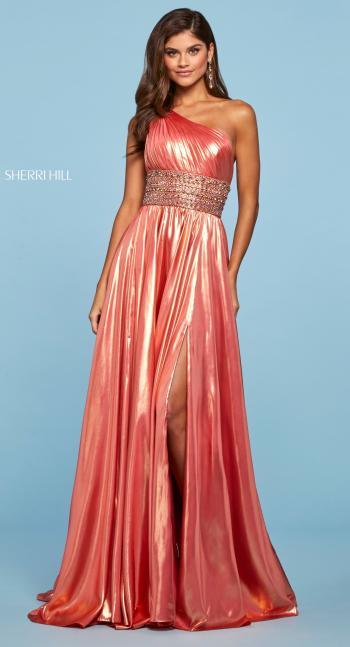 Sherri Hill Dress 53304 | Terry Costa | Shimmery dress ...