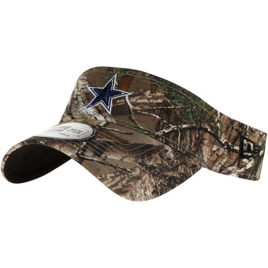 detailed look 00330 c2411 Men s Dallas Cowboys New Era Realtree Camo Visor, Your Price   22.99
