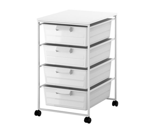 Delightful Storage For Closet. Ikea Antonius Frame And Wire Baskets On Casters.