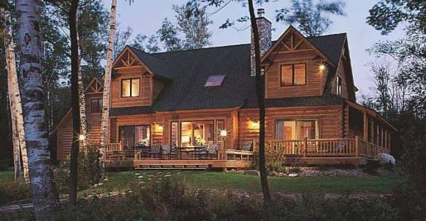 10 Gorgeous Log Homes From Top Notch Log Home Builder Bear Country Log Homes