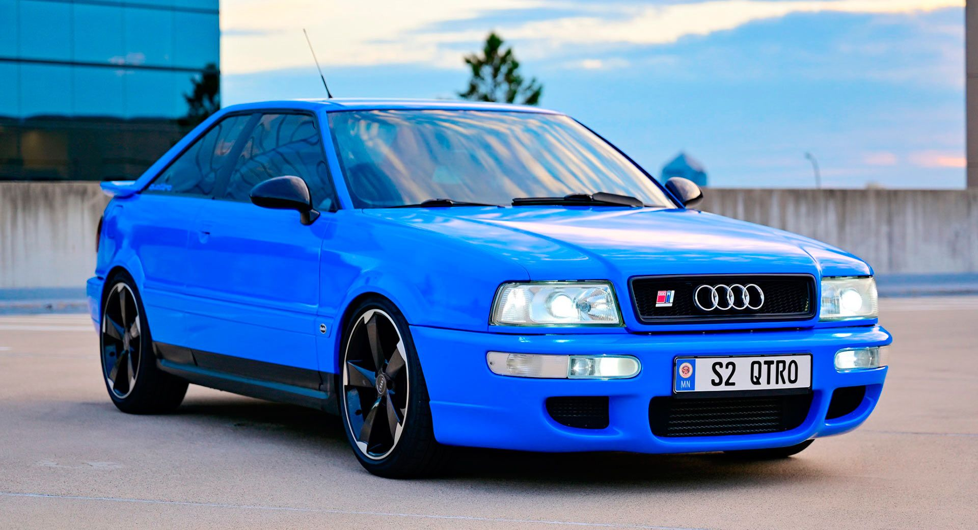 Modded 1990 Audi Coupe Quattro Takes On Rs2 Tribute Moniker Auction Audi Classics Galleries Usedcars Cars Carsofinstagram Carporn Audi Coupe Coupe Audi