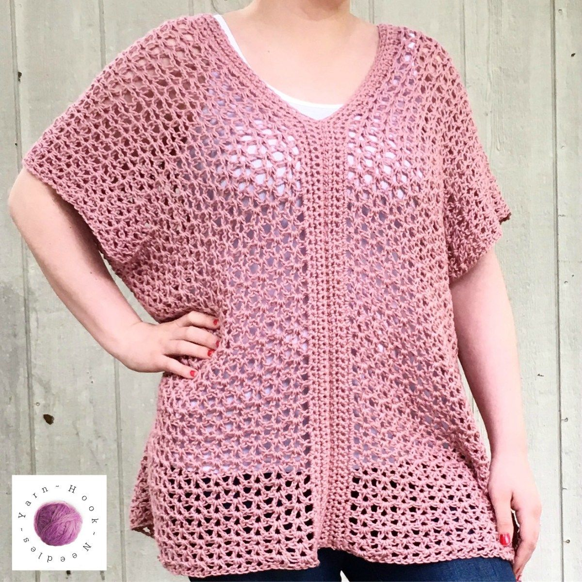 Learn to make this easy cotton crochet top in just a few hours free pattern learn to make this easy cotton crochet top bankloansurffo Image collections