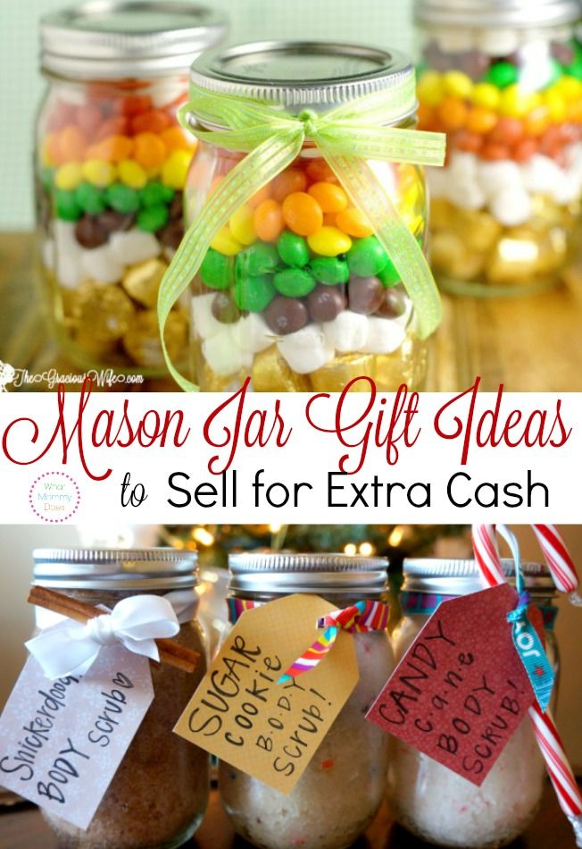 Easy Christmas Craft Ideas To Sell Part - 15: 13 Money Making Craft Ideas, Including These Lovely Painted Mason Jars.  Perfect If You. Christmas Makes To SellKids ...