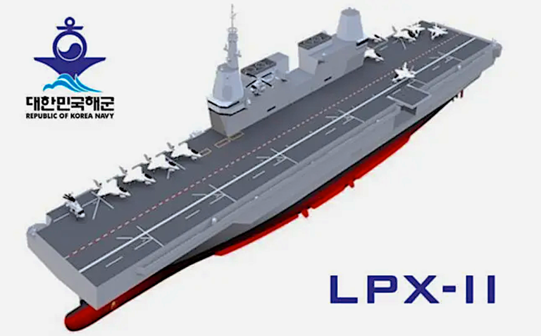 South Korea Is Packing Its First Aircraft Carrier With F 35s Aircraft Carrier Korea Carriers