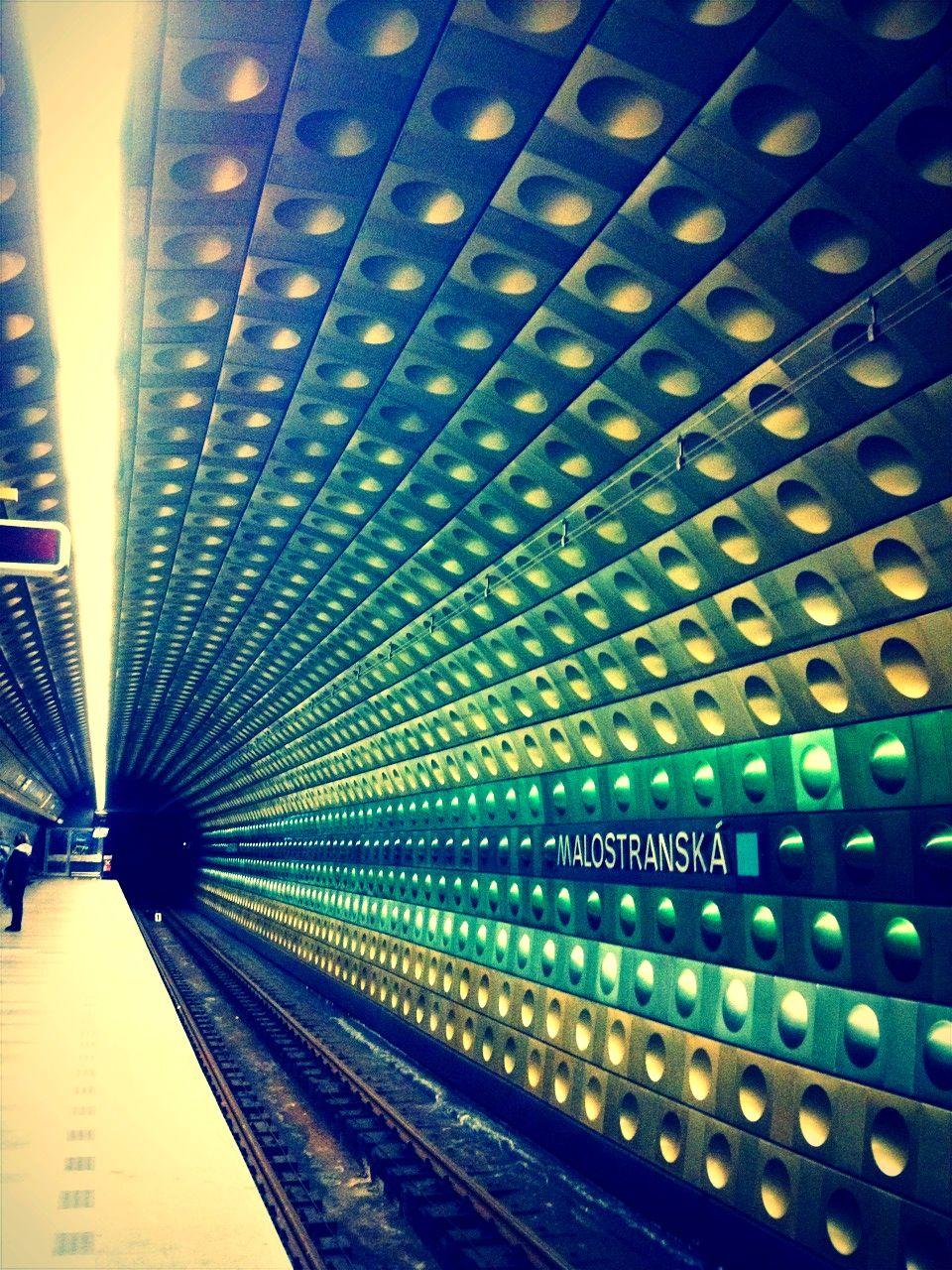 "Metro station ""Malostranska"" | Prague | Czech Republic | http://www.iconhotel.eu/en/contact/location"