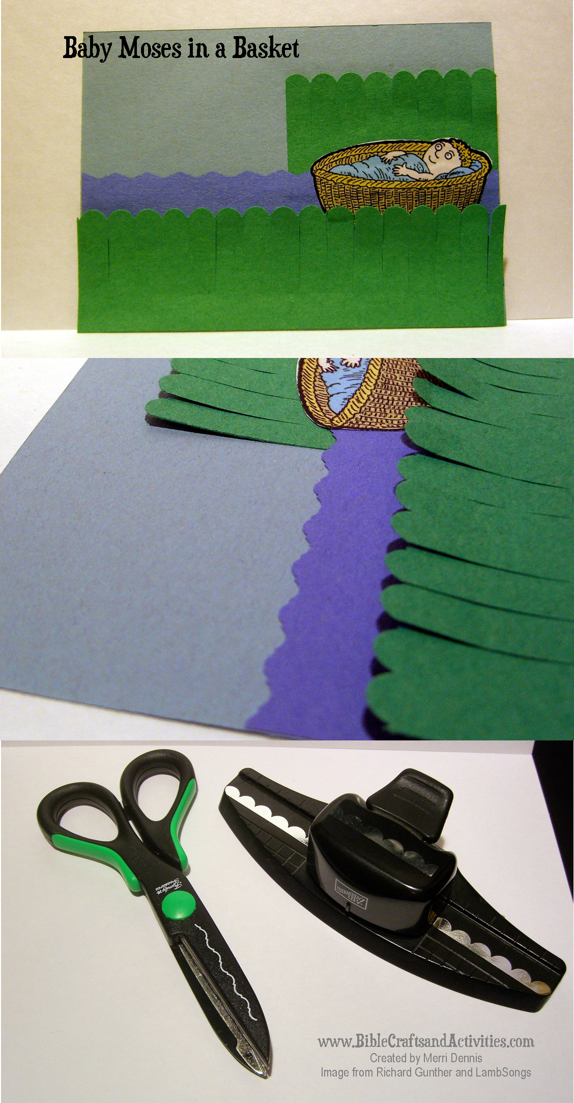 Baby Moses Paper Craft Blecraftsandactivities