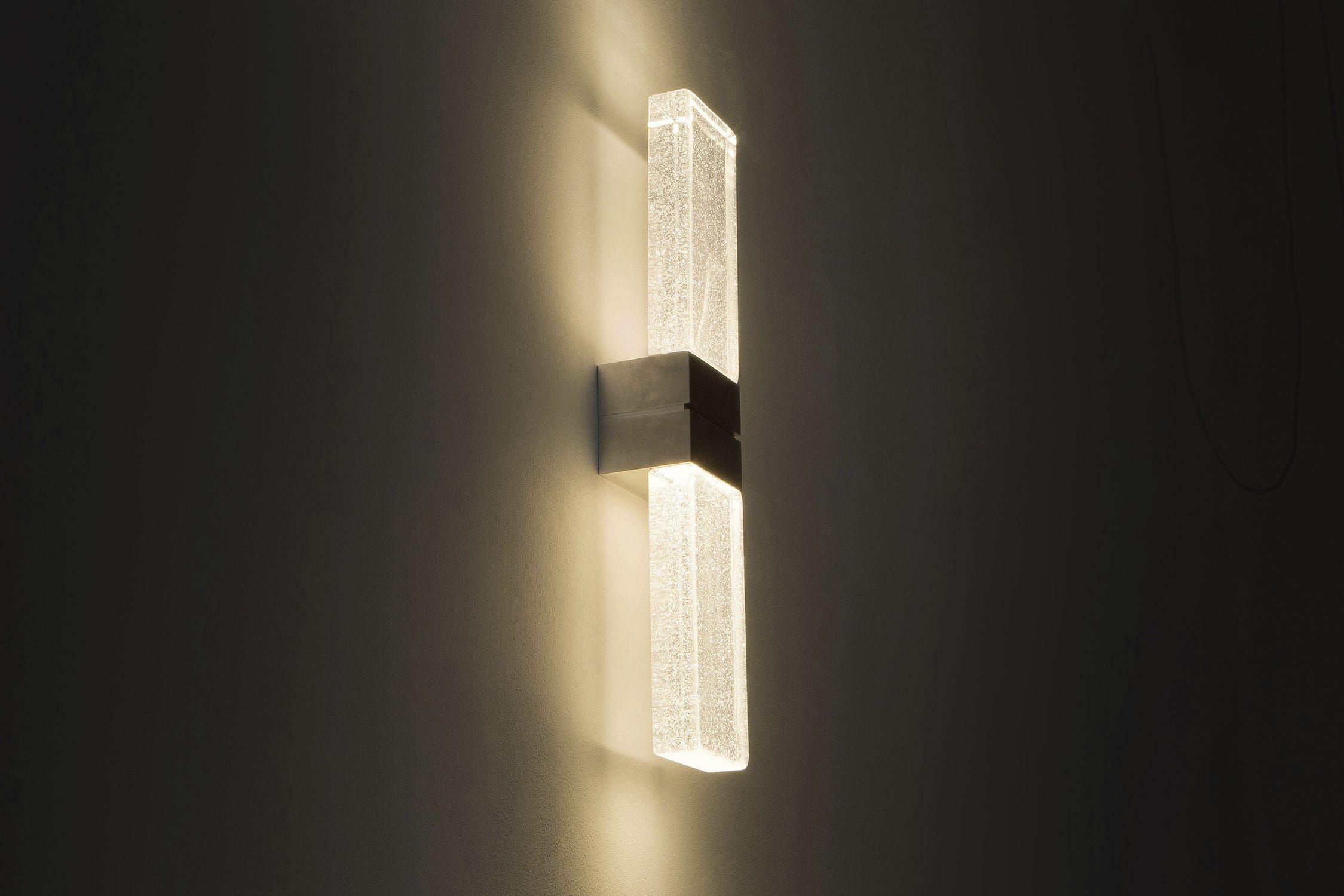 Contemporary Wall Light Glass Led Rectangular Grand Papillon Duo Massifcentral Wall Lights Contemporary Wall Lights Contemporary Wall
