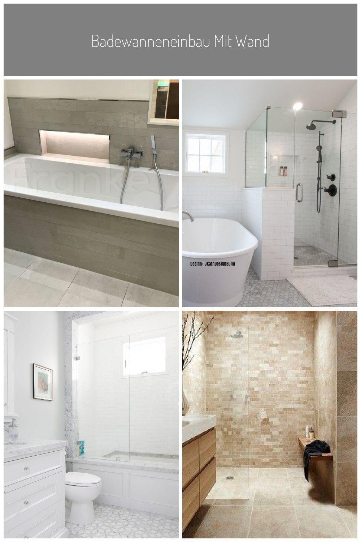 Badewanneneinbau Mit Wandnische Fur Badutensilien Fliesen Im Stonemix Fliesen Wand Boden Mosaik Stonemix In 2020 Wandnischen Badezimmer Mosaik Badezimmerideen
