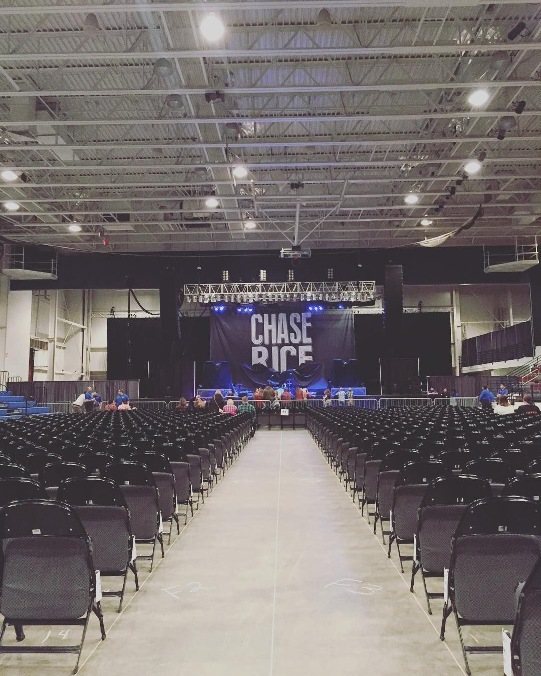 We're ready for you @chaserice! #FiveFlagsCenter #Dubuque #Iowa #Country #ChaseRice #Everybodyweknowdoes