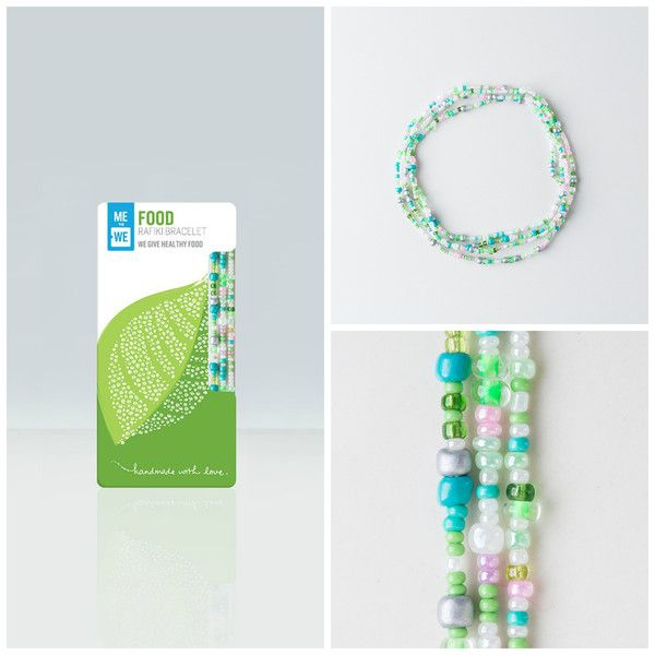 35770ab3062e8 Food Rafiki Bracelet: Give the gift of food to a child. Every food ...