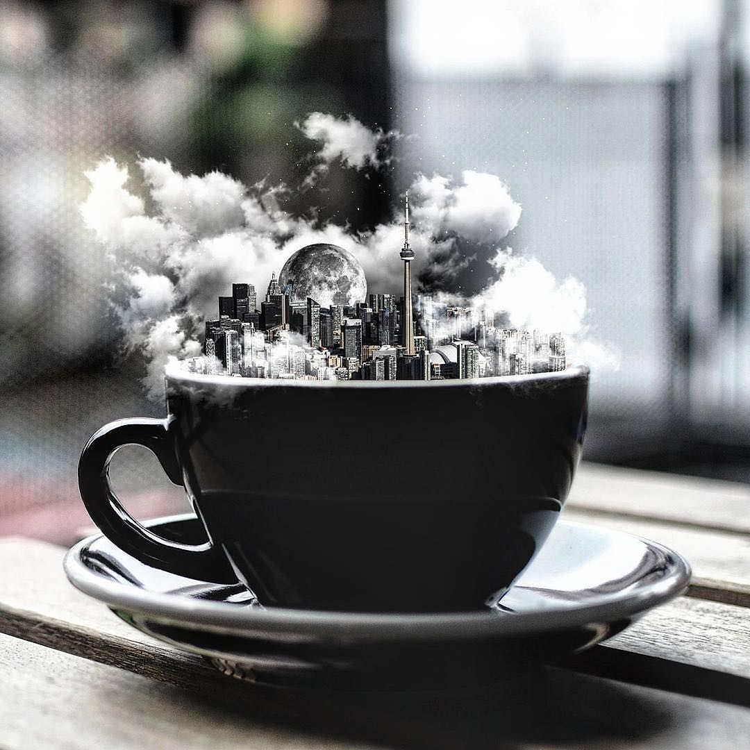 Photo by way2ill_ Coffee and cigarettes, Coffee art, Coffee