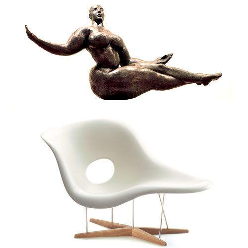 La Chaise By Charles And Ray Eames Inspired By Redhouse Ca Ray Eames Eames Charles Ray Eames