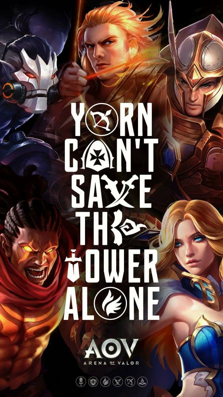 Yorn Cant Save The Tower Alone Mobile Legends Art Girl Devil Tower